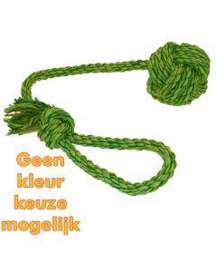 Happy Pet Nuts For Knots Werpflostouw Met Touwbal 48x7x7 Cm