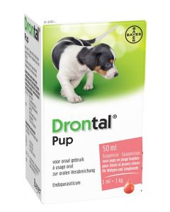 Bayer Drontal Ontworming Pup 50 Ml