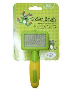 Happy Pet Knaagdier Slicker Brush 12x6x2 Cm