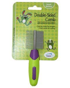 Happy Pet Knaagdier Double Sided Comb 12x4x2 Cm