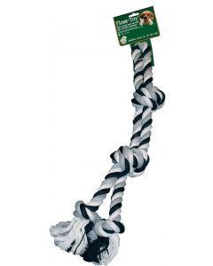 Floss-toy Halter Zwart/wit Groot