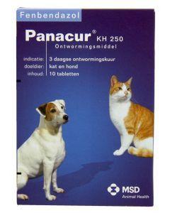 Panacure Hond/kat 250 Mg 10 Tablet