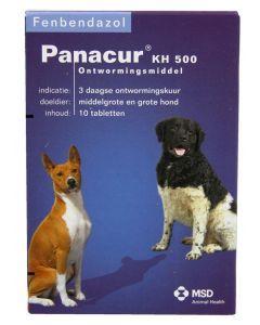 Panacure Hond/kat 500 Mg 10 Tablet