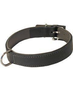 Hondenhalsband Soft Gevoerd Zwart / Grijs