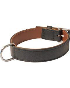 Hondenhalsband Eland Leer Zwart 40x3 Cm