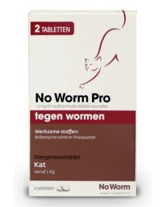 Kat No Worm Pro 2 Tbl