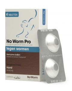 Hond No Worm Pro L 4 Tbl