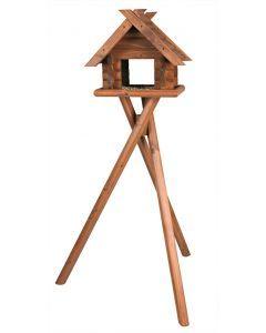 Trixie Natura Vogel Voederhuisje Op Standaard 47x40x36/140 Cm