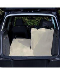 Trixie Autodeken Kofferbak Beige / Zwart 180x130 Cm