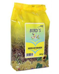Birds Meelwormen Gedroogd 200 Gr