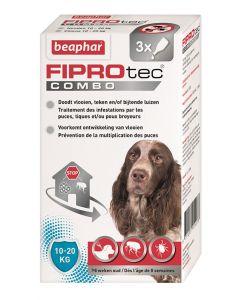 Beaphar Fiprotec Combo Hond 10-20 Kg 3st