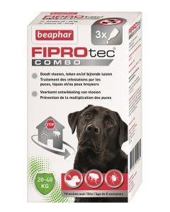 Beaphar Fiprotec Combo Hond 20-40 Kg 3st
