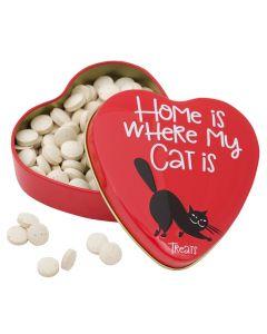 Sanal Hartenblik Home Is Where My Cat Is Gistsnoepjes 60 Gr