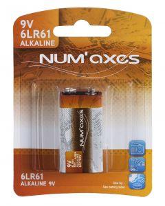 Numaxes Alkaline Batterij 6lr61 9v