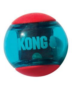 Kong Squeez Action Rood Large 8,5x8,5x8,5 Cm