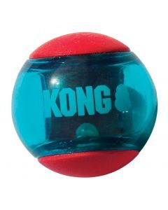 Kong Squeez Action Rood Small 5x5x5 Cm