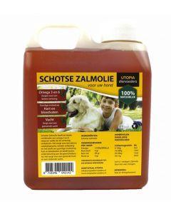Schotse Zalmolie Naturel 1 Ltr