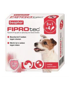 Beaphar Fiprotec Hond Tegen Teken En Vlooien 2-10 Kg 3+1 Pip