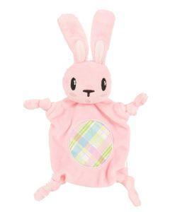 Zolux Puppyspeelgoed Plush Cuddly Konijn Roze 14,5x3x18 Cm