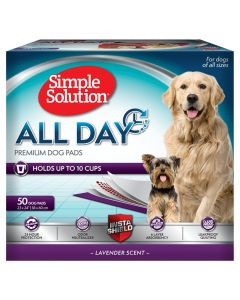 Simple Solution All Day Premium Dog Pads 50 St