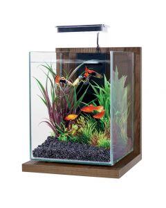 Zolux Aquarium Kit Jalaya Walnut Bruin 22x23x34,5cm 9,3 Ltr