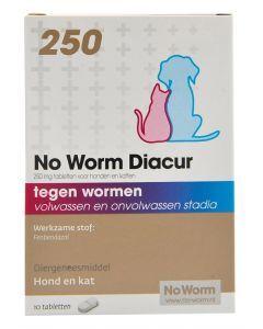 No Worm Diacur 250 Mg 10 Tbl