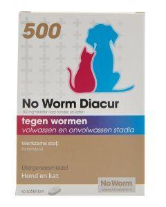 No Worm Diacur 500 Mg 10 Tbl