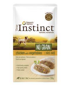 True Instinct Pouch No Grain Mini Adult Chicken Pate 150 Gr