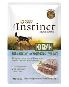 True Instinct Pouch No Grain Adult Fish Pate 70 Gr