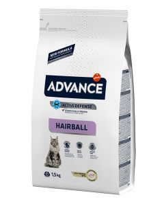 Advance Cat Hairball Turkey / Rice 1,5 Kg