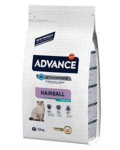 Advance Cat Sterilized Hairball 1,5 Kg