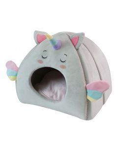 Croci Kattenmand Iglo Fluffy Unicorn 43x33x39 Cm