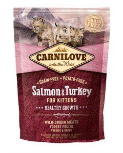 Carnilove Salmon / Turkey Kittens 400 Gr
