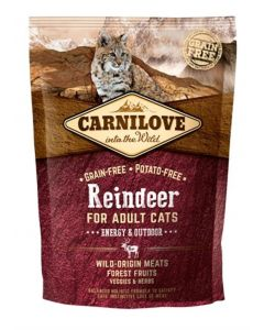 Carnilove Reindeer Energy / Outdoor 400 Gr