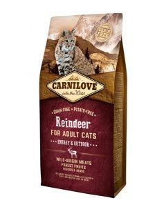 Carnilove Reindeer Energy / Outdoor 6 Kg
