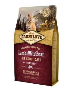 Carnilove Lamb / Wild Boar Sterilised 2 Kg