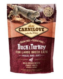 Carnilove Duck / Turkey Large Breed 400 Gr