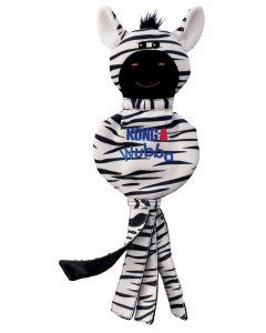 Kong Wubba No Stuff Zebra 40x15,5x2 Cm