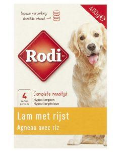 Rodi Compleet Lam / Rijst 400 Gr (verpakt per 4)