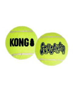 Kong Squeakair Tennisbal Geel Met Piep 6,5x6,5x6,5 Cm 6 St