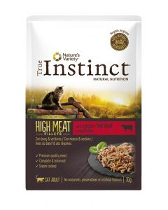 True Instinct High In Meat Pouch Adult Beef Fillets 70 Gr