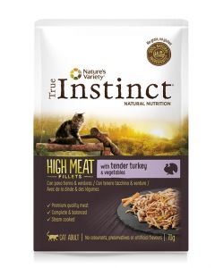 True Instinct High In Meat Pouch Adult Turkey Fillets 70 Gr