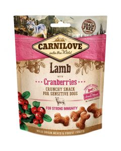 Carnilove Crunchy Snack Lam / Cranberries 200 Gr