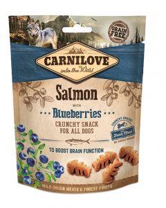 Carnilove Crunchy Snack Zalm / Blauwe Bes 200 Gr