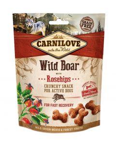 Carnilove Crunchy Snack Everzwijn / Rozenbottel 200 Gr