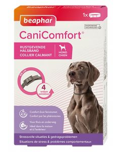 Beaphar Canicomfort Rustgevende Halsband Volwassen Hond 65 Cm
