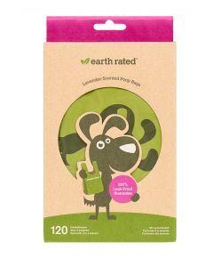 Earth Rated Poepzakjes Met Handvaten Lavendel 120 St
