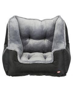 Trixie Autostoel Zwart / Grijs 50x50x40 Cm