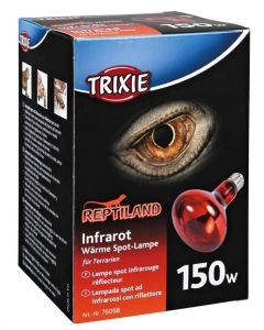 Trixie Reptiland Warmtelamp Infrarood 150 Watt 9,5x9,5x13 Cm