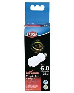 Trixie Reptiland Tropic Pro Compact 6.0 Uv-b Lamp 23 Watt 6x6x15,2 Cm
